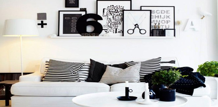 Zwart wit interieur trend in 2015 lifestyle wonen for Interieur trends 2015