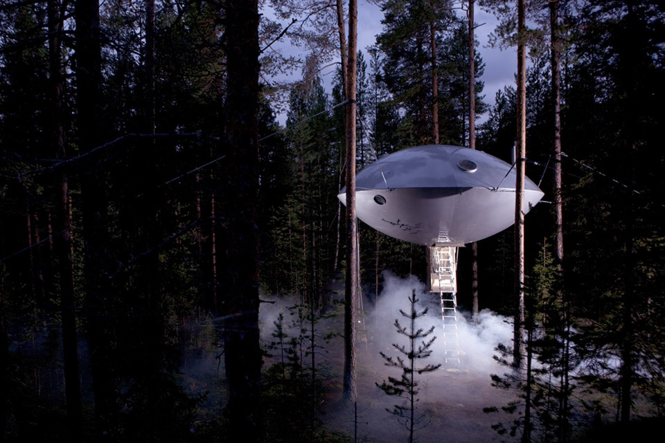 Treehotel The UFO